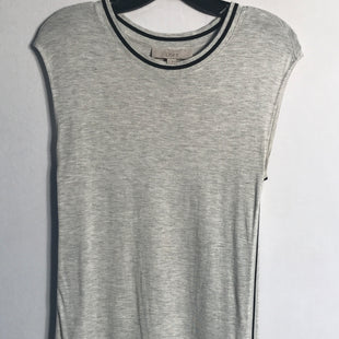 Primary Photo - BRAND: ANN TAYLOR LOFT STYLE: TOP SHORT SLEEVE BASIC COLOR: GREY SIZE: S SKU: 313-31311-23804
