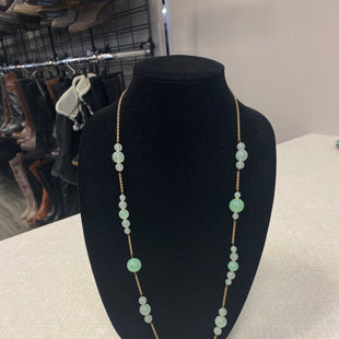 Primary Photo - BRAND:    CLOTHES MENTOR STYLE: NECKLACE COLOR: GREEN SKU: 313-31311-28570
