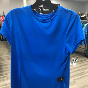 Primary Photo - BRAND: ATHLETIC WORKS STYLE: ATHLETIC TOP SHORT SLEEVE COLOR: BLUE SIZE: M SKU: 313-31332-6436