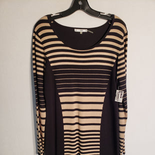 Primary Photo - BRAND: SIONI STYLE: DRESS SHORT LONG SLEEVE COLOR: STRIPED SIZE: L SKU: 313-31328-29629