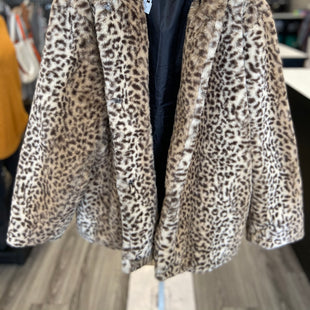 Primary Photo - BRAND:    CLOTHES MENTOR STYLE: COAT SHORT COLOR: ANIMAL PRINT SIZE: 2X OTHER INFO: PINK PLATINUM - SKU: 313-31344-19827