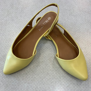 Primary Photo - BRAND: FALLS CREEK STYLE: SHOES FLATS COLOR: YELLOW SIZE: 9 SKU: 313-31328-33223