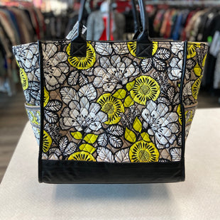 Primary Photo - BRAND: VERA BRADLEY STYLE: TOTE COLOR: WHITE YELLOW SIZE: LARGE SKU: 313-31344-16859