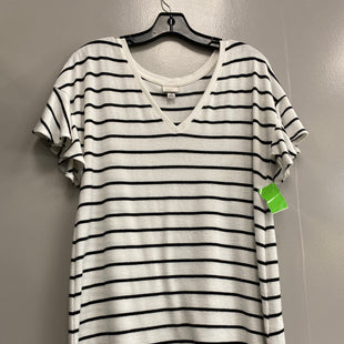 Primary Photo - BRAND: A NEW DAY STYLE: TOP SHORT SLEEVE COLOR: STRIPED SIZE: M SKU: 313-31344-12344