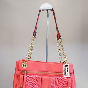 Primary Photo - BRAND: NICOLE BY NICOLE MILLER STYLE: HANDBAG COLOR: CORAL SIZE: LARGE SKU: 313-31311-24965