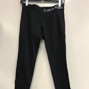 Primary Photo - BRAND: CALVIN KLEIN STYLE: ATHLETIC PANTS COLOR: BLACK SIZE: M SKU: 313-31352-1211