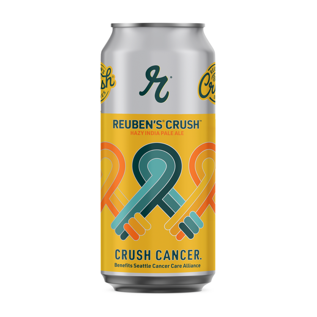 Crush Cancer Hazy IPA Cans