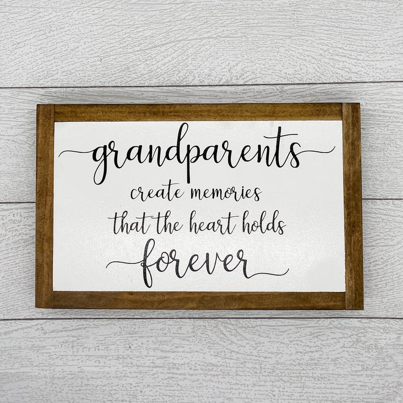 Grandparents | 13 x 8 Sign