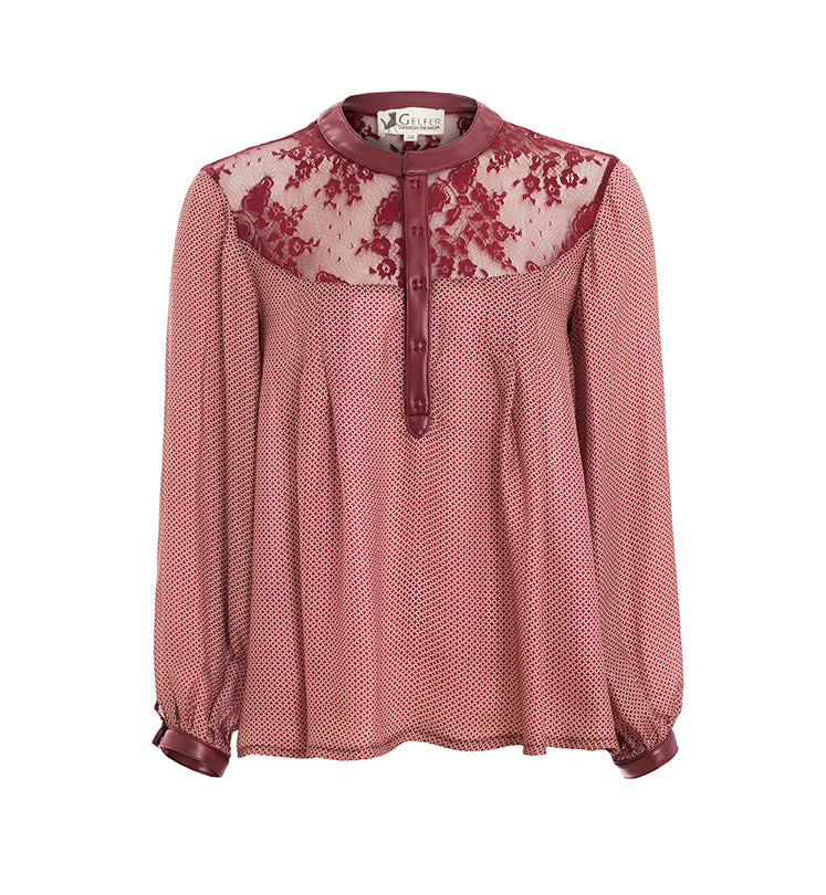 Fan Lacey Blouse