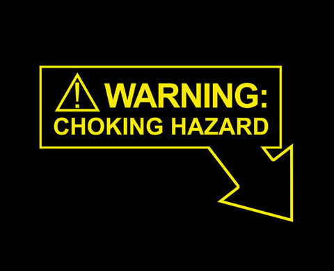 Warning: Choking Hazard Tee