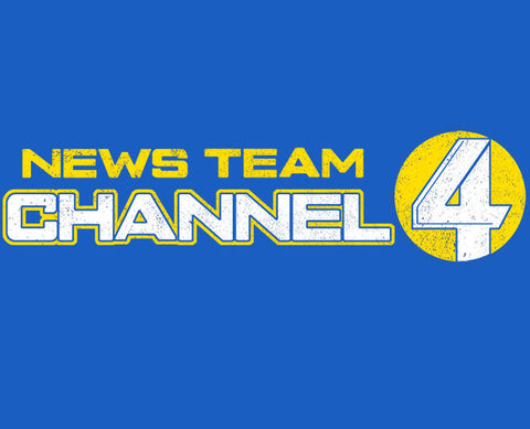 News Team Channel 4 Tee