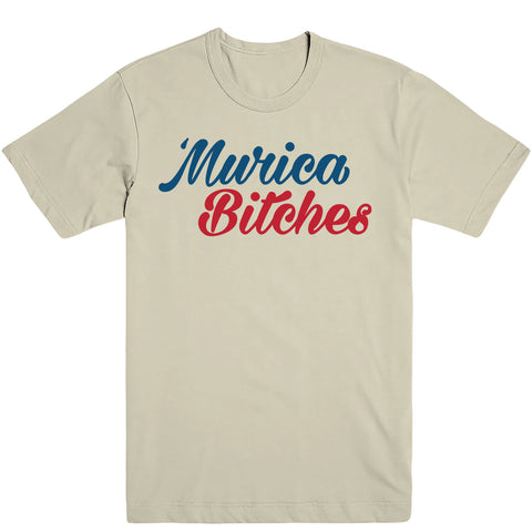 Murica Bitches Men's Tee