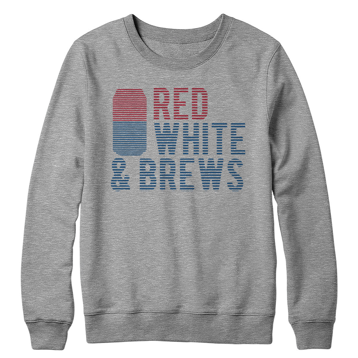 Red White and Brews Crewneck