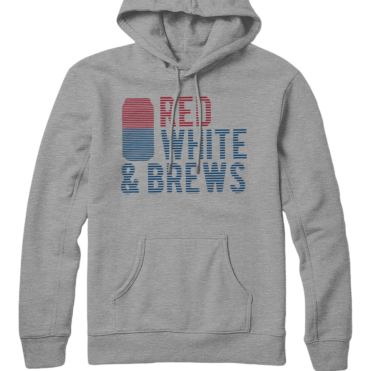 Red White and Brews Hoodie