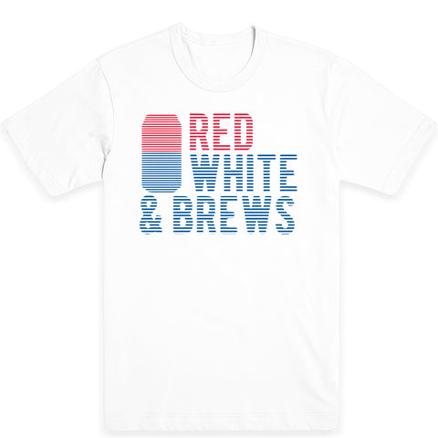 Red White and Brews Tee (Free Code:  redwhitebrews)