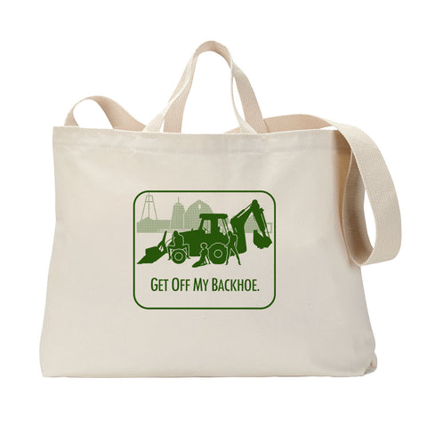 Backhoe Tote Bag