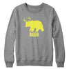 Bear + Deer = Beer Crewneck