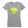 Bear + Deer = Beer Women's Tee