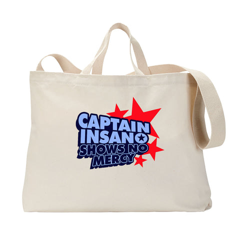 Captain Insano Tote Bag