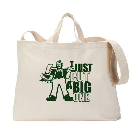 Cut A Big One Tote Bag