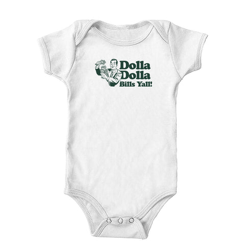 Dolla Dolla Bills Yall Onesie