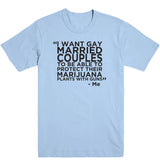 Gay Marry Jane Guns Men's Tee