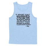 Gay Marry Jane Guns Tank Top