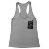 Heart On Women's Racerback Tank