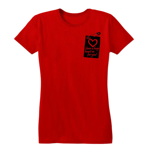 Heart On Women's Tee