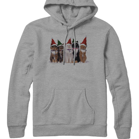 Holiday Pussy Cats Hoodie