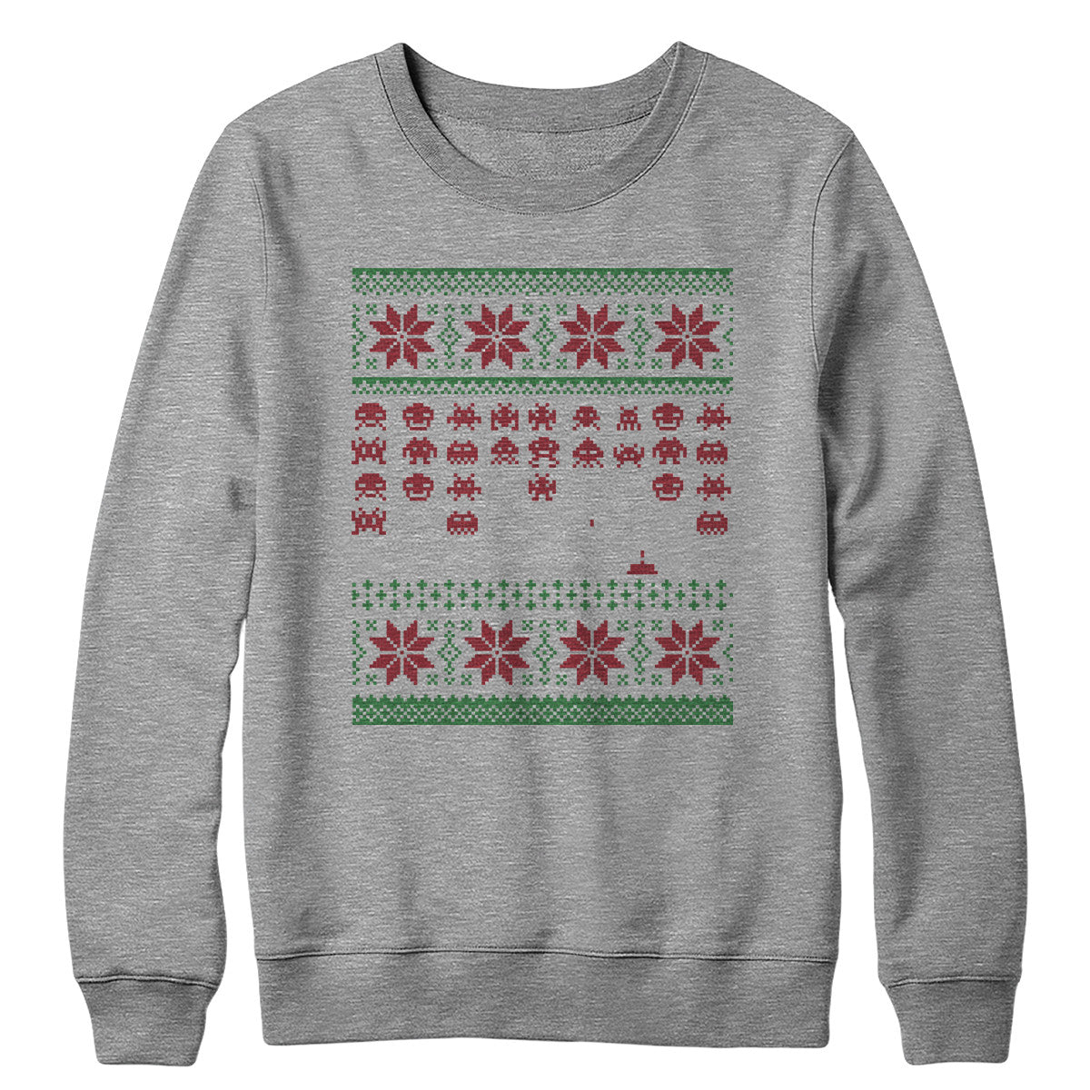 Holiday Invaders Crewneck Sweatshirt
