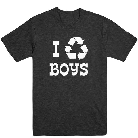 I Recycle Boys Men's Tee