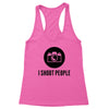 I Shoot People Women's Racerback Tank