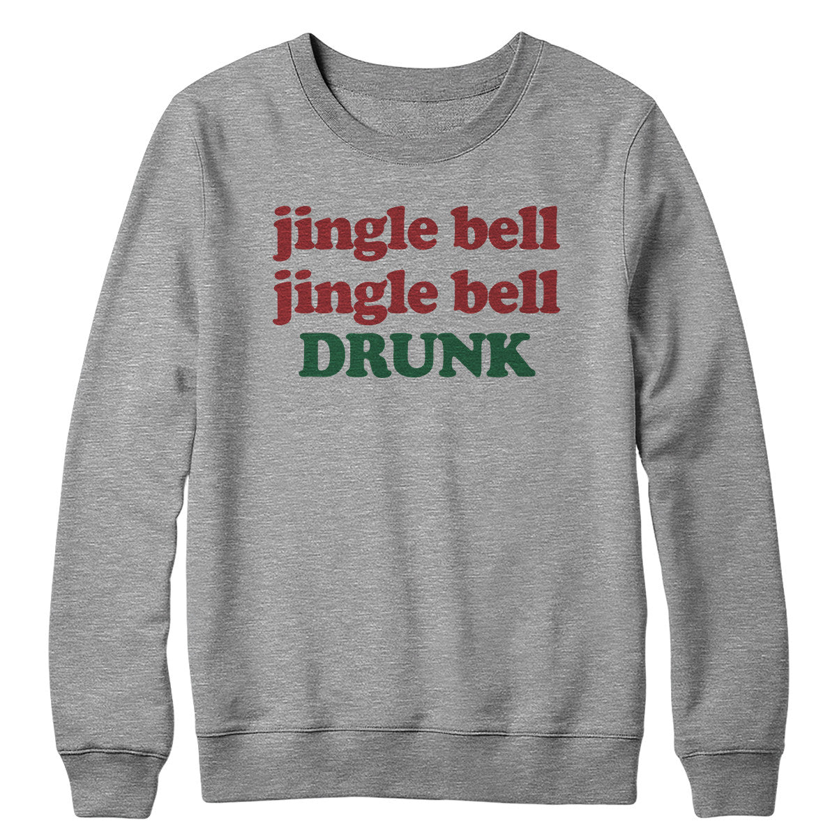 Jingle Bell Drunk Crewneck Sweatshirt
