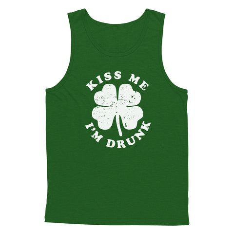Kiss Me, I'm Drunk Tank Top
