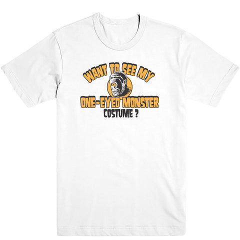 One-Eyed Monster Costume Tee