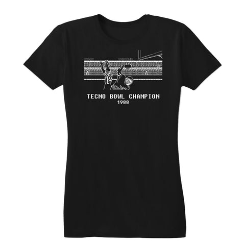 Tecmo Bowl Champion Women's Tee