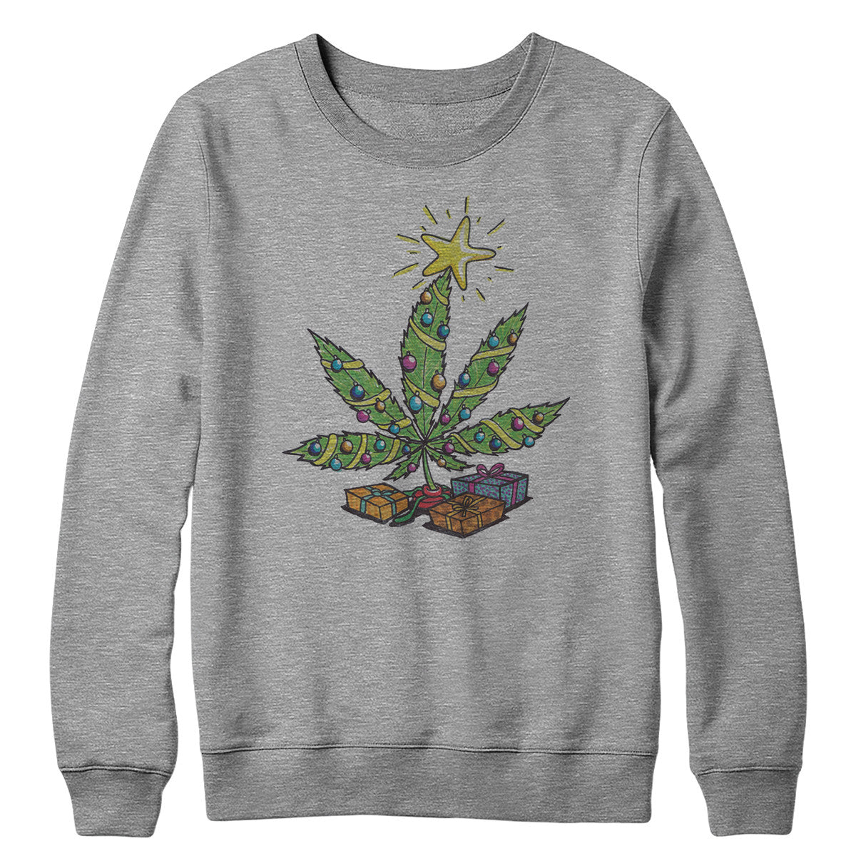 Tree Trim Crewneck Sweatshirt