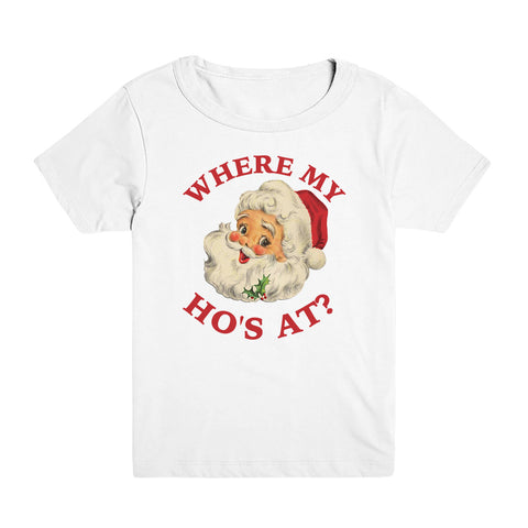 Where My Ho At Kid's Tee
