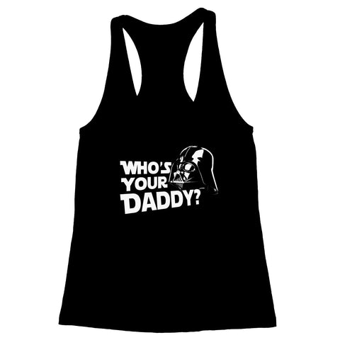 Who's Your Daddy Women's Racerback Tank