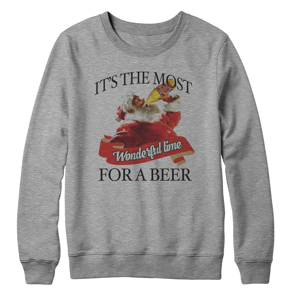 The Most Wonderful Time Crewneck Sweatshirt