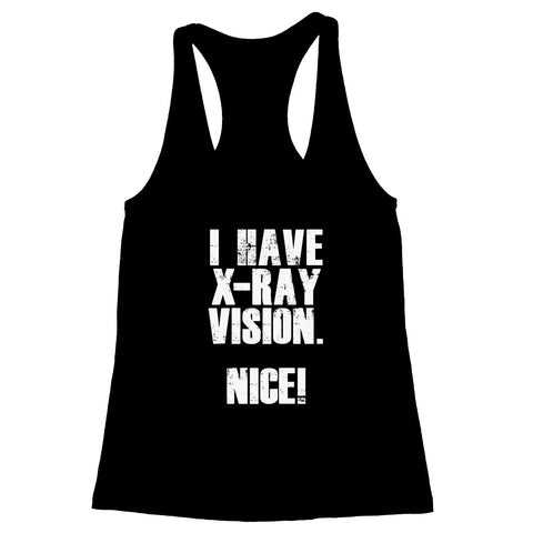 X-Ray Vision Women's Racerback Tank