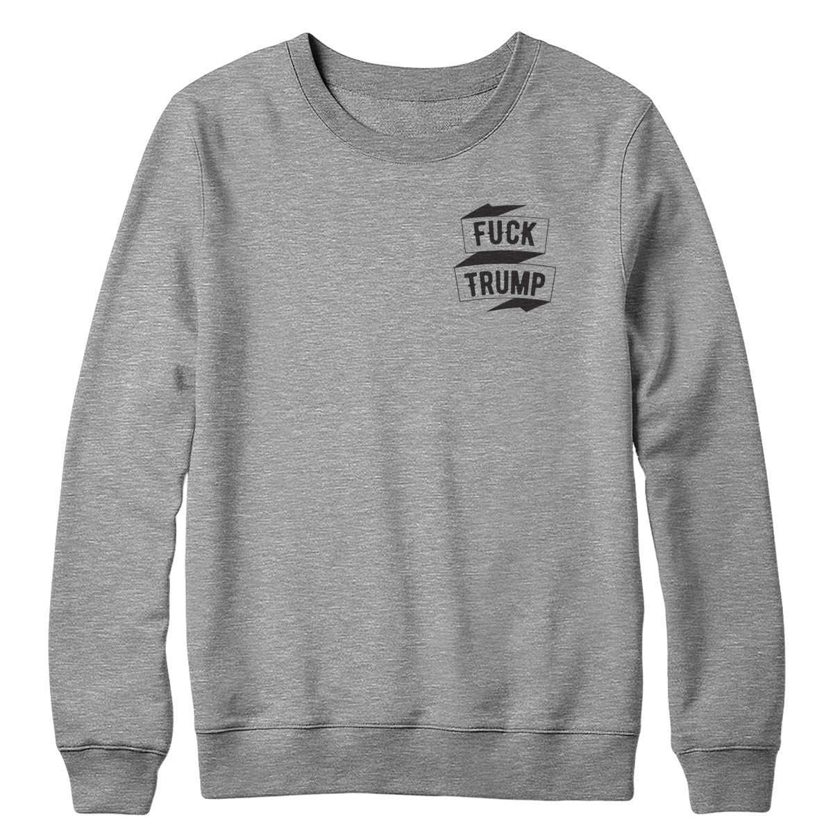 Eff Trump Pocket Crewneck Sweatshirt