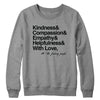 And With Love Crewneck