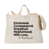 And With Love Tote Bag