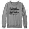 And With Love (PG Version) Crewneck