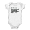 And With Love (PG Version) Onesie