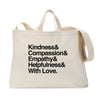 And With Love (PG Version) Tote Bag