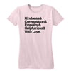 And With Love (PG Version) Women's Tee