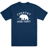 Country Over Party Men's Tee
